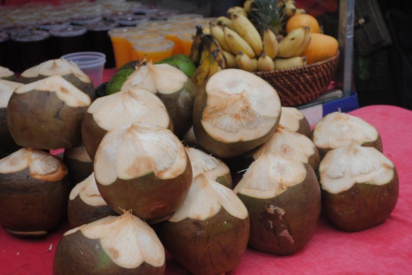 Coconut water £3